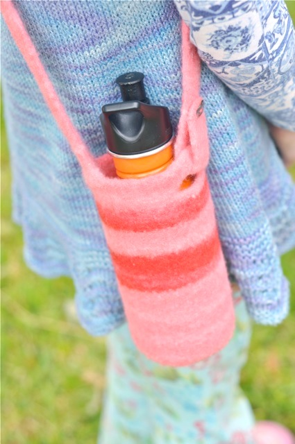 My Felted Water Bottle Carrier Pattern Is Now Available Waldorf Mama
